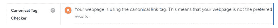 Canonical-Tag-checker