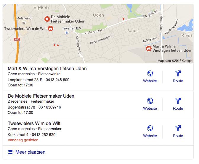 Local Box Google