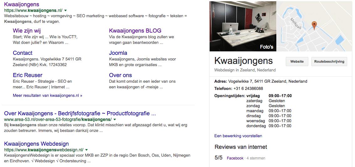 Google Mijn Bedrijfs