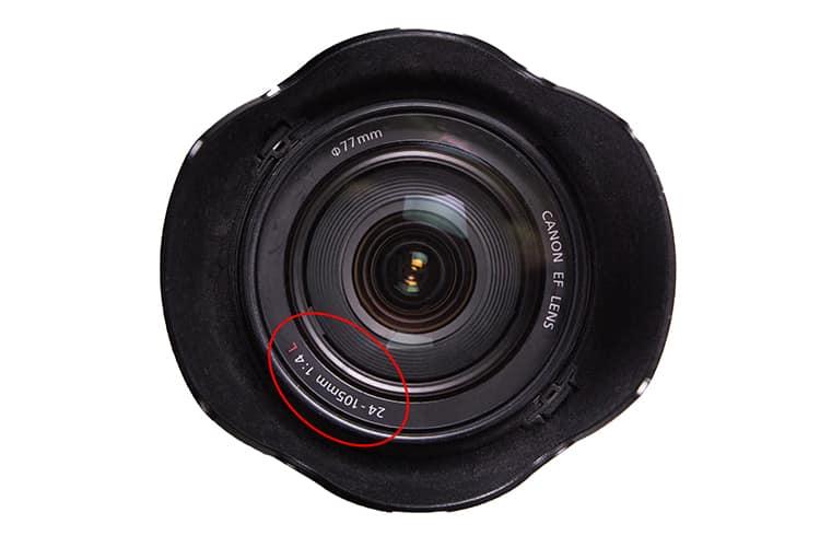 lens brandspuntsafstand