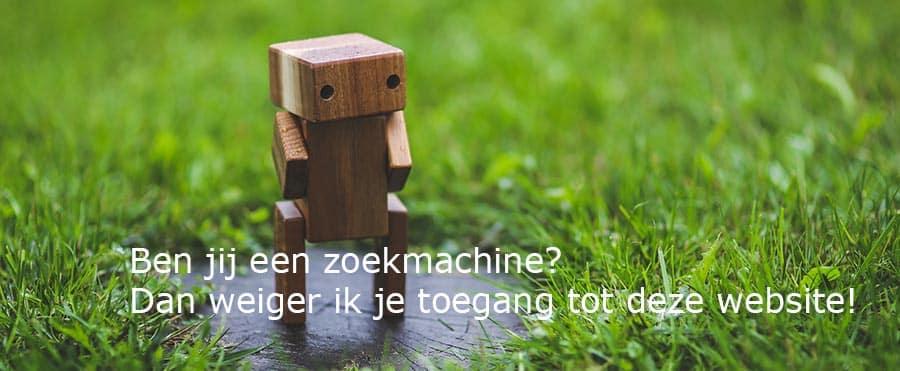 Robots.txt blokkeert toegang zoekmachines tot je website