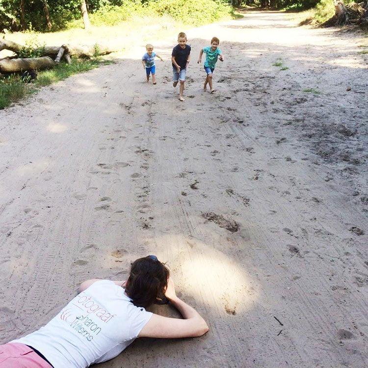 standpunt familiefotograaf