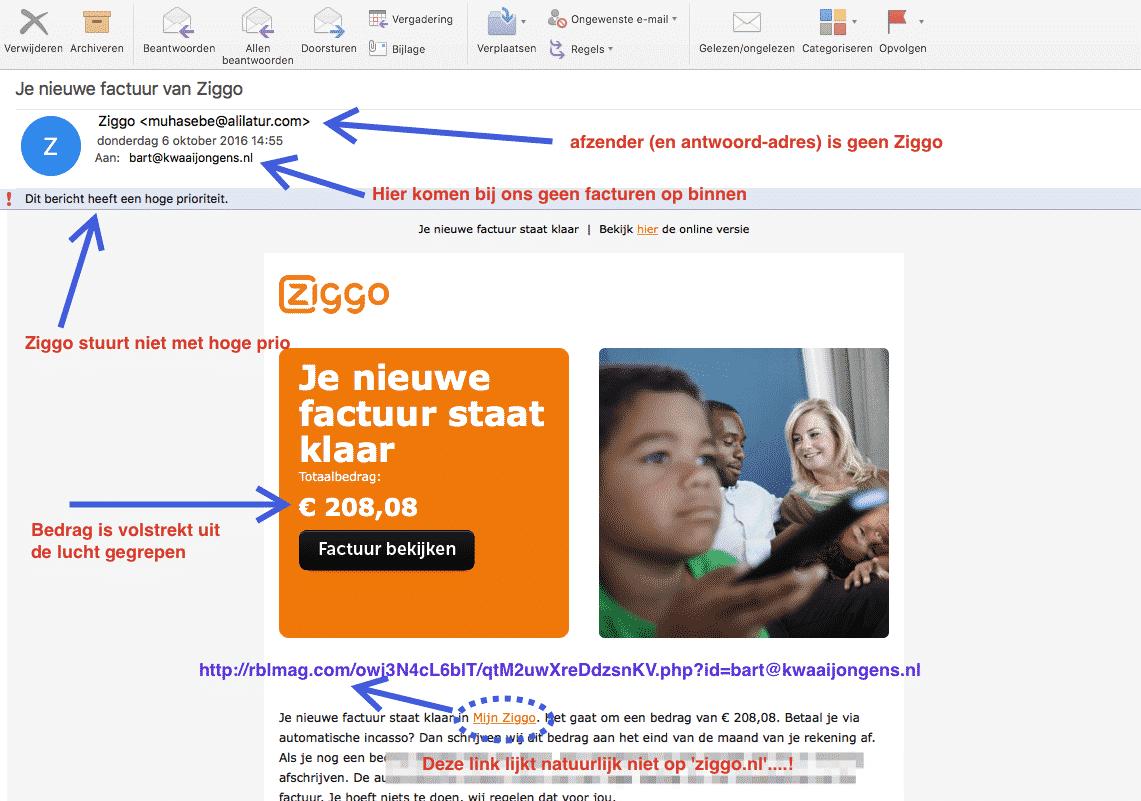 ziggo-oplichting-scam