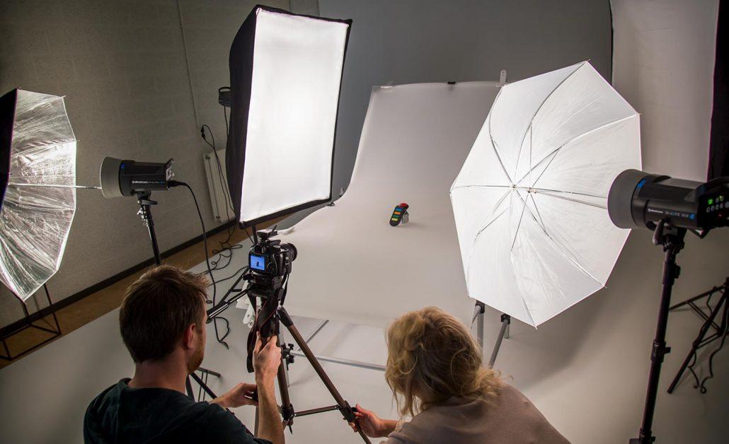 Workshop door productfotograaf