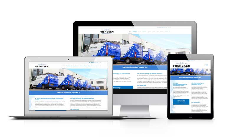 Frencken - Professionele website responsive