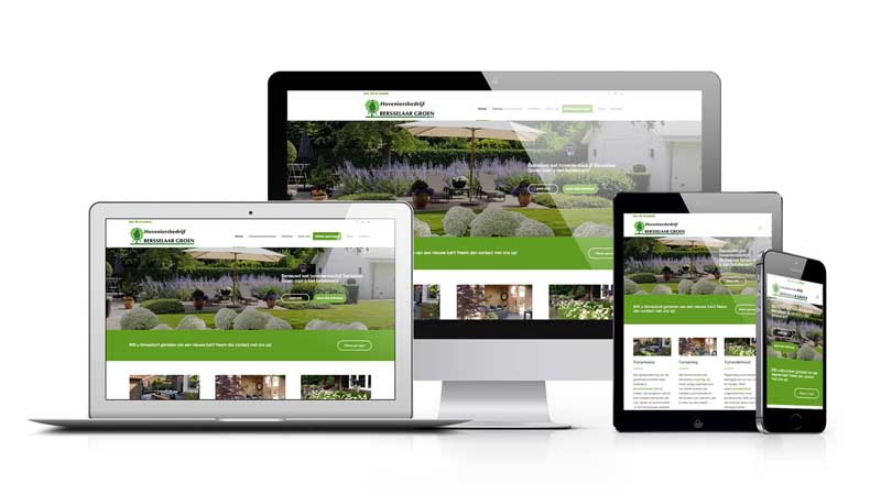Website Bersselaar Groen