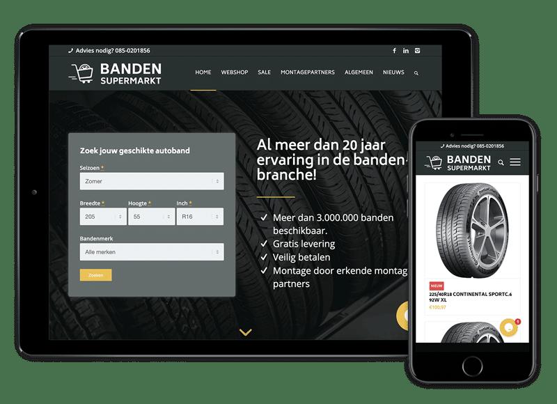 Woocommerce webshop met maatwerk en data-uitwisseling voor actuele aanbiedingen en voorraadbeheer.