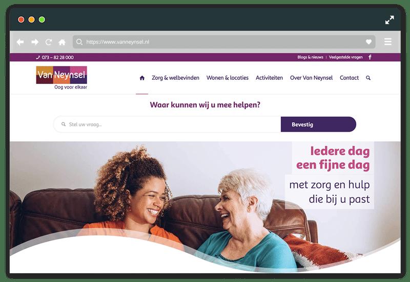 Van Neynsel professionele website