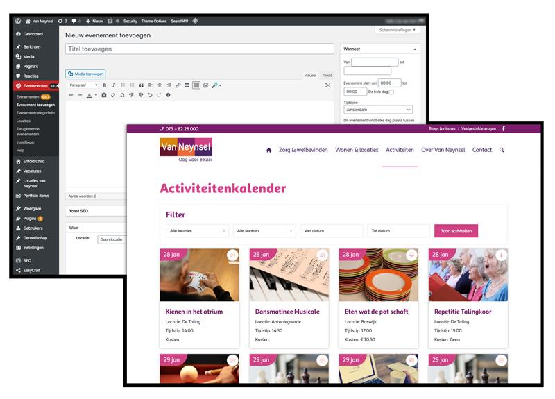 Maatwerk WordPress Den Bosch