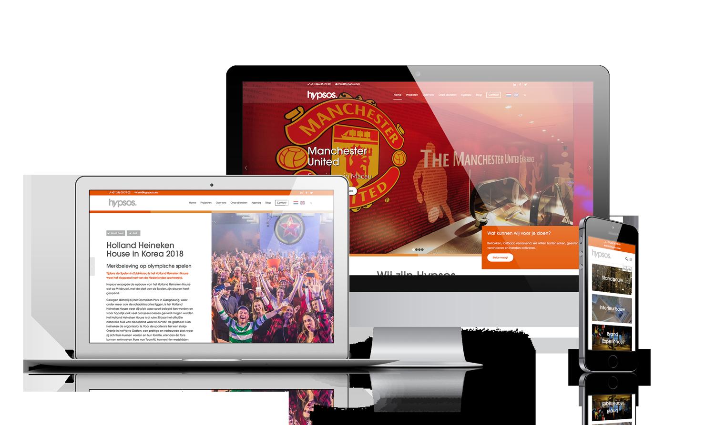 Hypsos - Maatwerk website