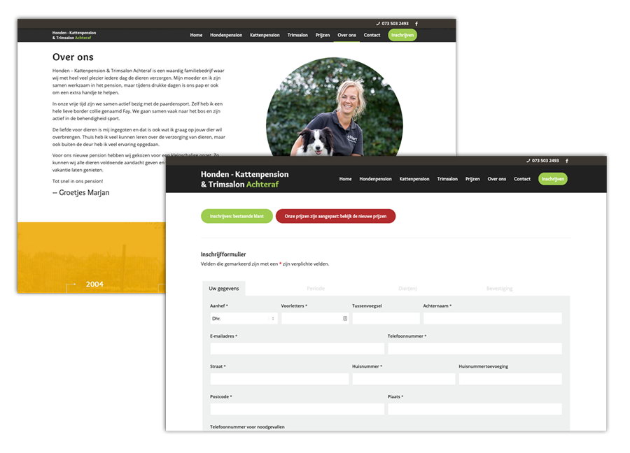 Webdesign maatwerk WordPress