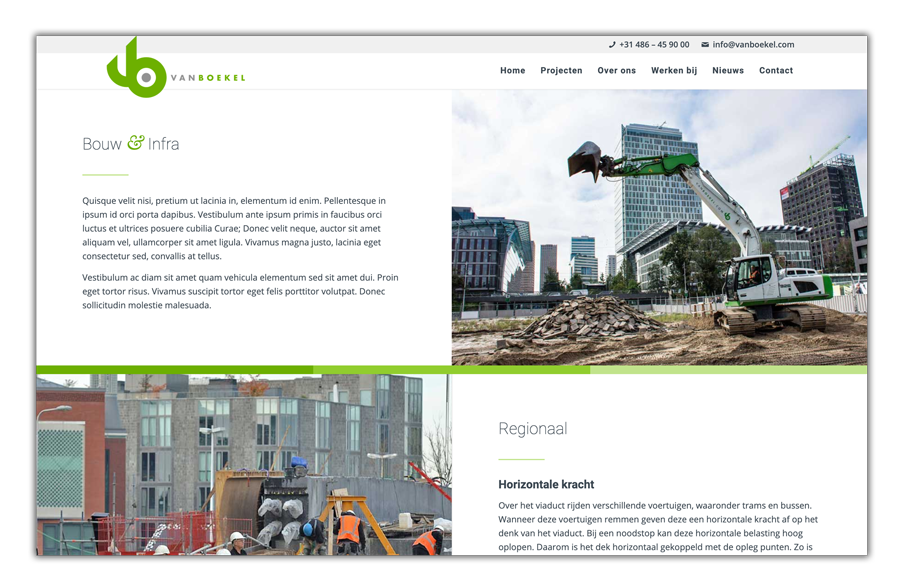 Websitebouw multisite