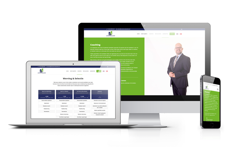 Webdesign en website realisatie