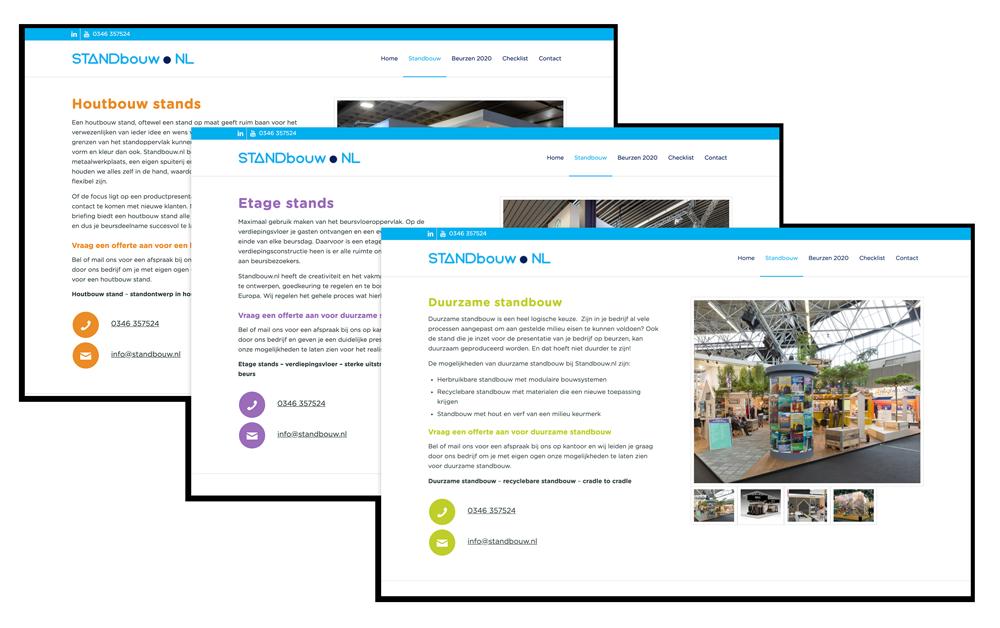 WordPress maatwerk layout