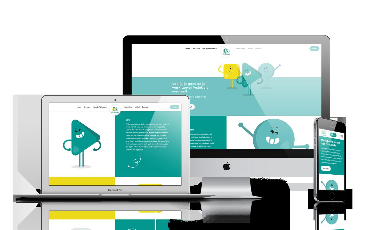 Fit-Snacks WordPress webdesign