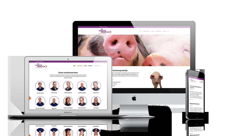 De Varkenspraktijk website
